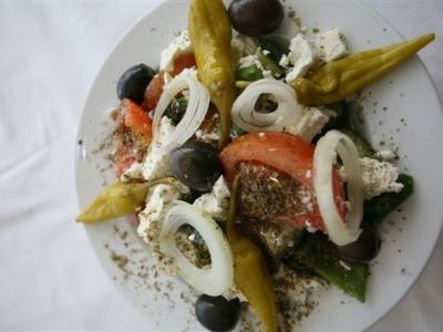 Saladas Gregas
